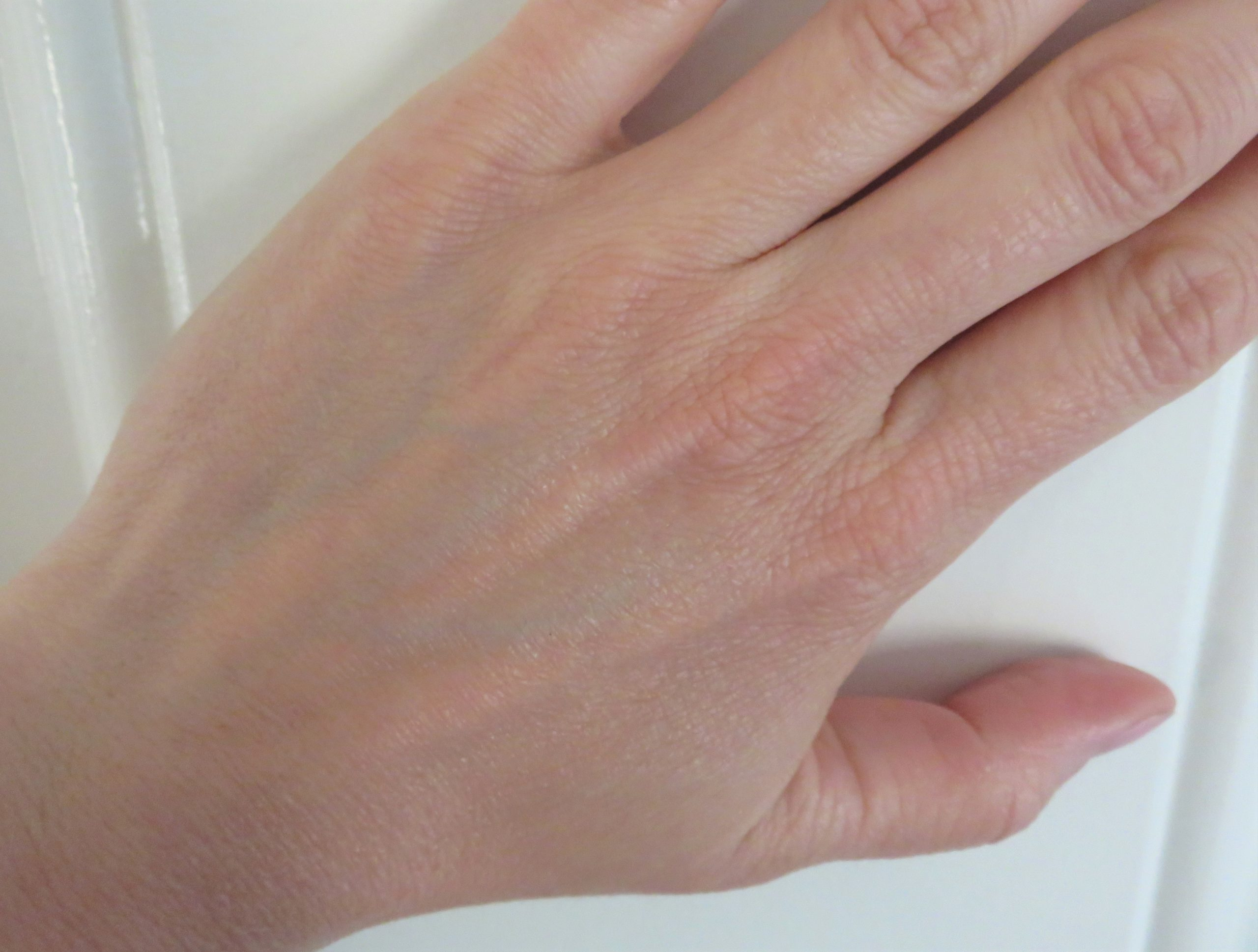 my hand after looking smoother