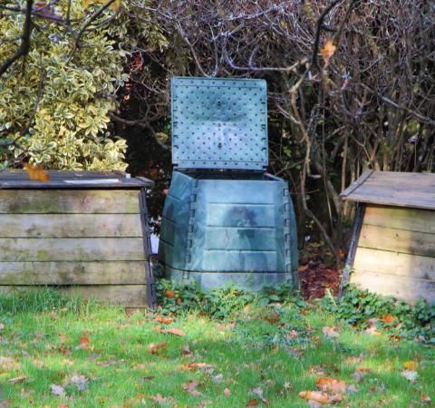 3 compost bins