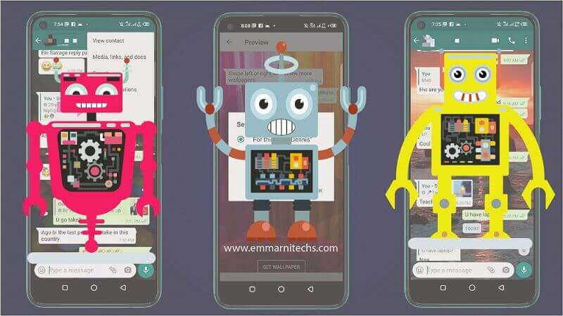 3 most dangerousandroid malware robots on an phone