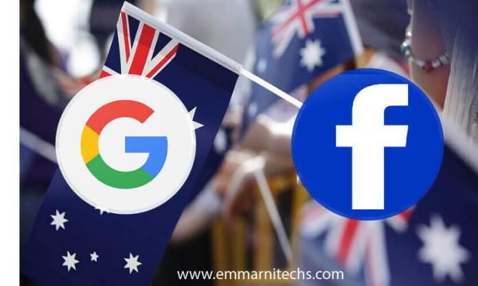 australia vs google and facebook
