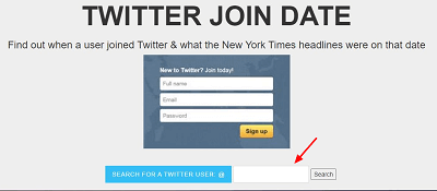 twitter join date