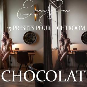 Presets Lightroom Chocolat