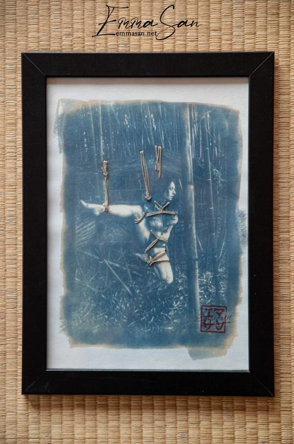 Cyanotype kata-ashi
