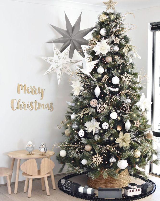 arbol de navidad decoracion con estilo