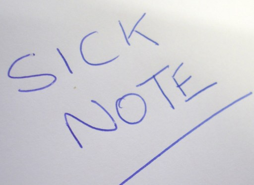 Image result for sick note