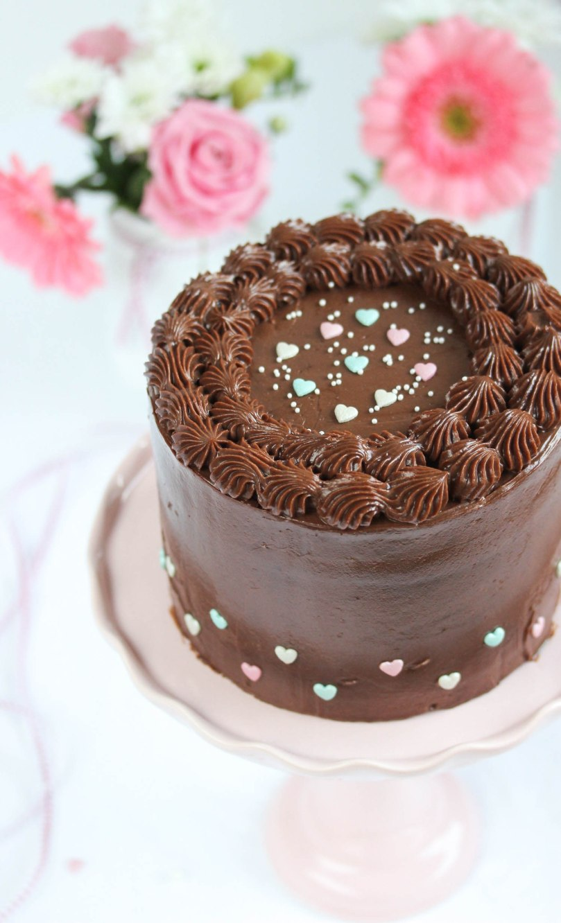 Nutella Birthday Cake-4