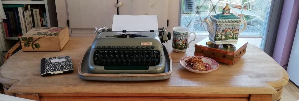 mein Autorenarbeitsplatz