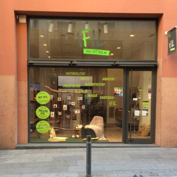 ifil, barcelona, yarn shop