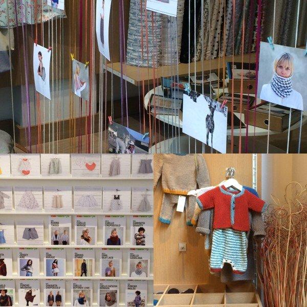 yarn, shop, ifil, barcelona, spain