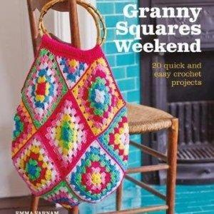 Book. Granny squares weekend, by Emma Varnam