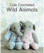 Book. Cute crocheted wild animals