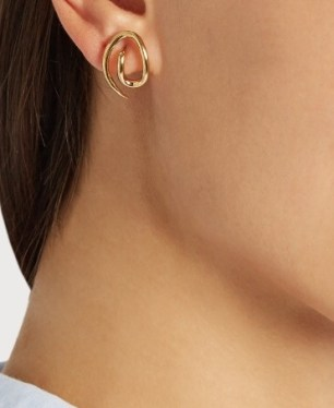 http://www.matchesfashion.com/products/Charlotte-Chesnais-Whirl-gold-plated-earrings-1066596