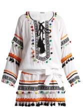 http://www.matchesfashion.com/products/Dodo-Bar-Or-Yehoray-pompom-embellished-mini-dress-1081094