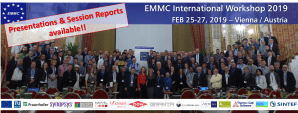 EMMC International Workshop 2019 - Presentations and Session Reports available!!