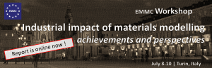 EMMC-CSA Workshop on Industrial impact of materials modelling - REPORT available now!