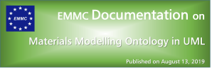 EMMC Documentation on Materials Modelling Ontology in UML