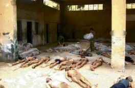 cette photographie fait partie d'un ensemble de 54 000 clichés de 11 000 détenus morts sous la torture et les privations dans un «centre» du régime de Bachar al Assad mars 2014
