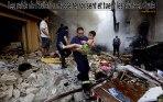 Les enfants victimes des bombardements russes en Syrie