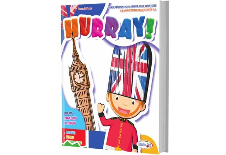 "Quaderno operativo inglese ""HURRAY!"""