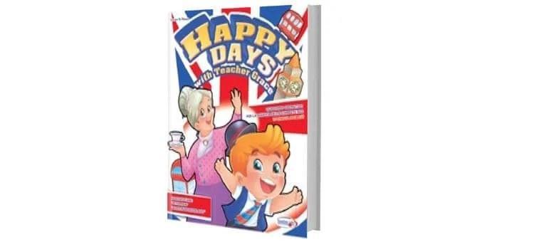 """Volume bambini di inglese da colorare per le Scuole Infanzia """"HAPPY DAYS"""""""