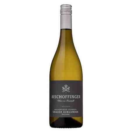 Bischoffinger Grauburgunder Steinbock, Réserve, Weinhandlung Emmi Reitter München und Bruckmühl