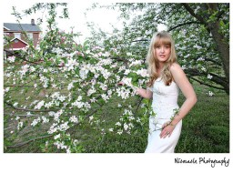 Bride and Blossoms