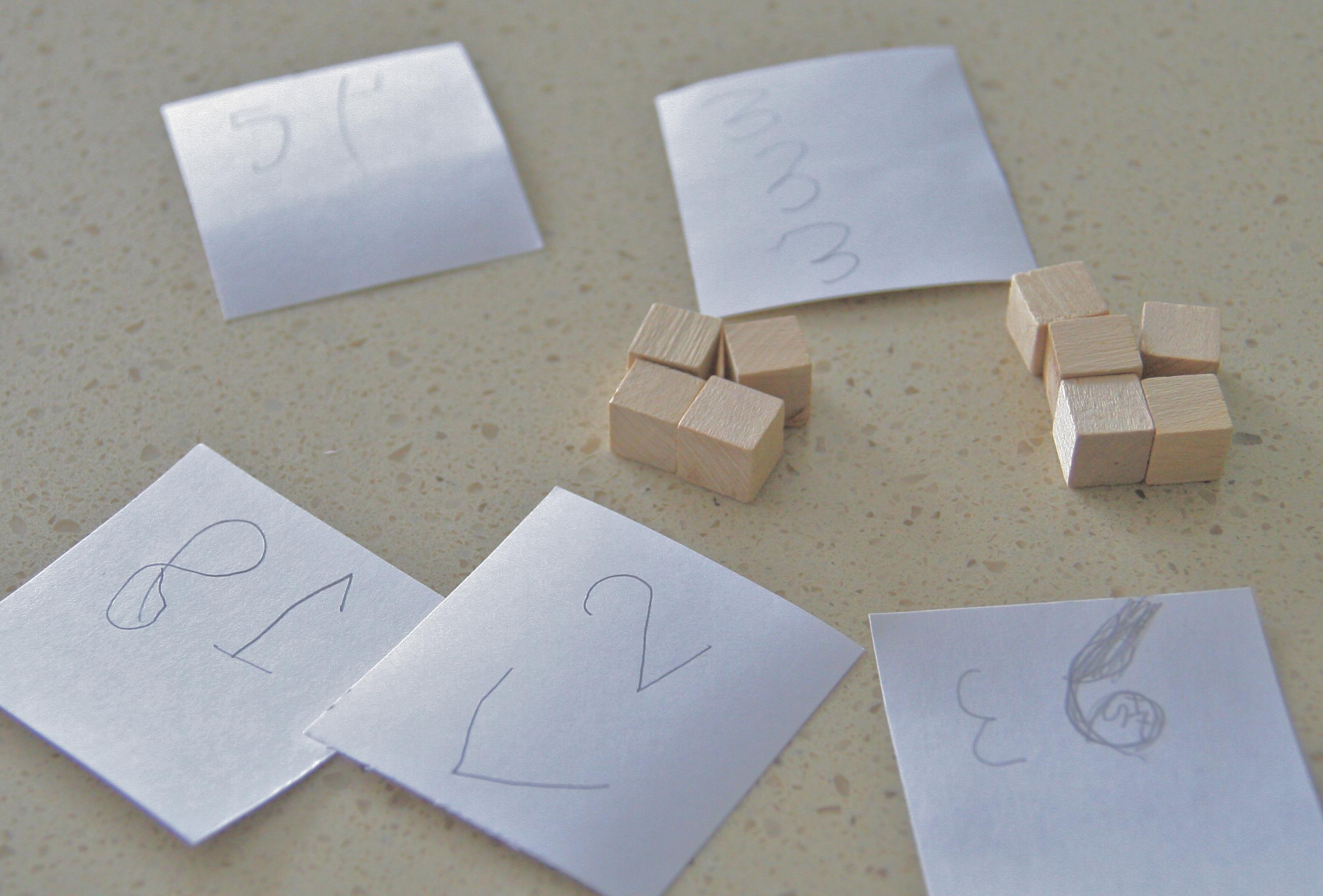 Kindergarten Math Manipulatives With Addition