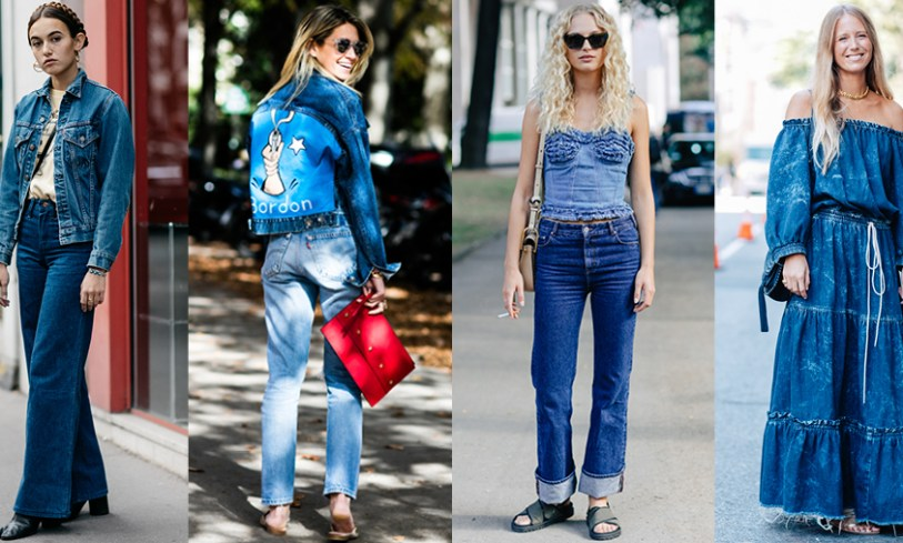Street style : comment porter le total look jean ? (via Vogue)
