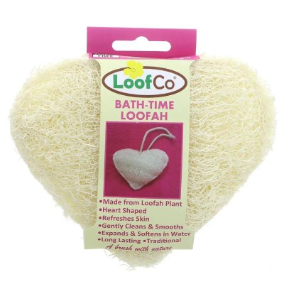 loofah bath time