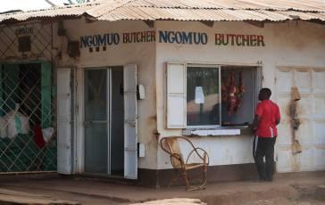Open air butcher