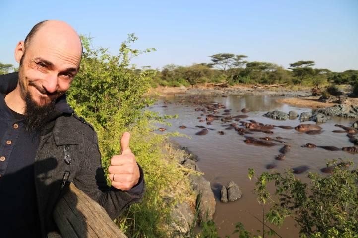 Tahn loves hippos