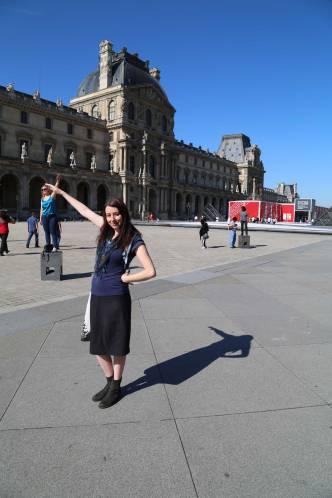 Patting the tourists