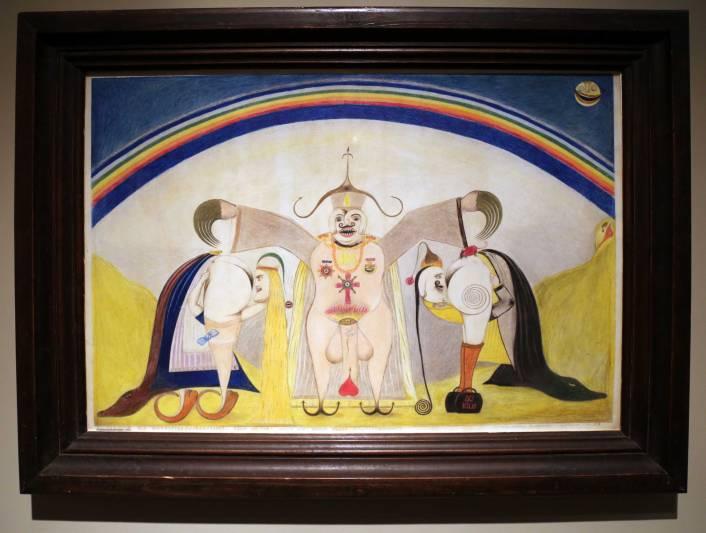 Friedrich Schroder Sonnenstern Die Trauung des Wahrheitssucherpaares 1952
