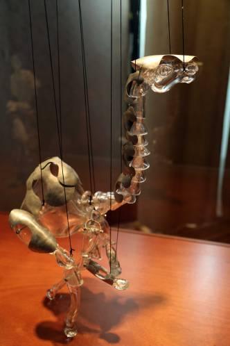 Glasstress Gotica puppet