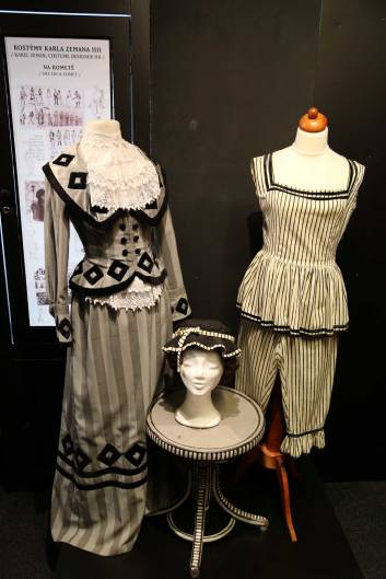 Hand painted costumes