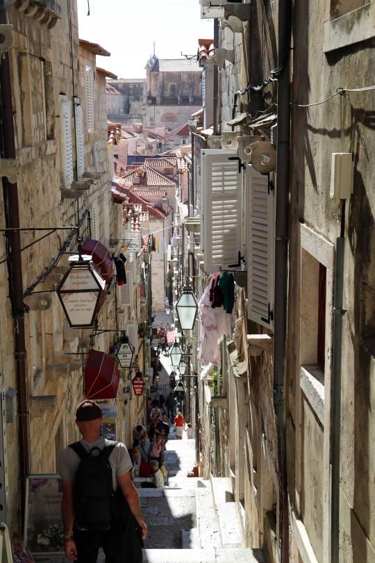 Dubrovnik alleys