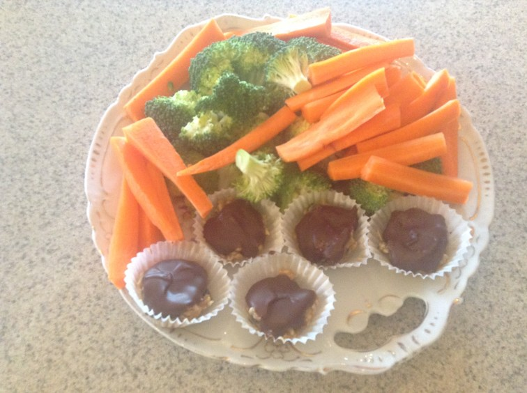 Our favorite afternoon snack tray