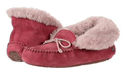alena garnet ugg slippers
