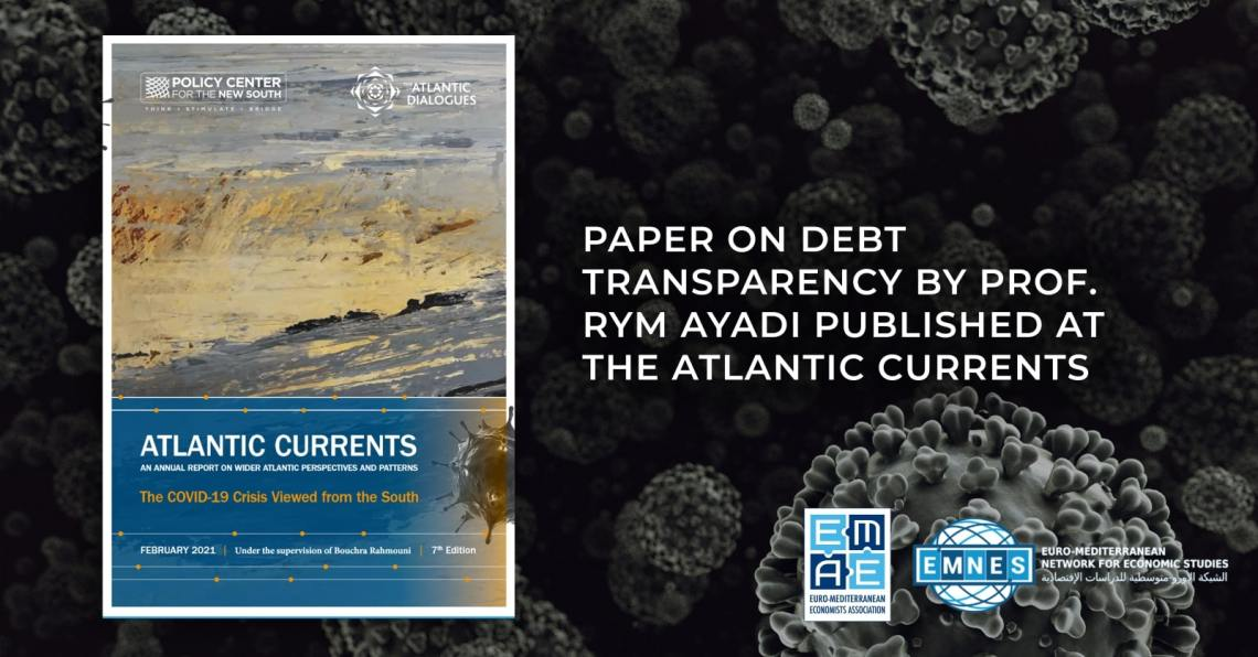 Paper on Debt Transparency by Prof. Rym Ayadi published at the Atlantic Currents