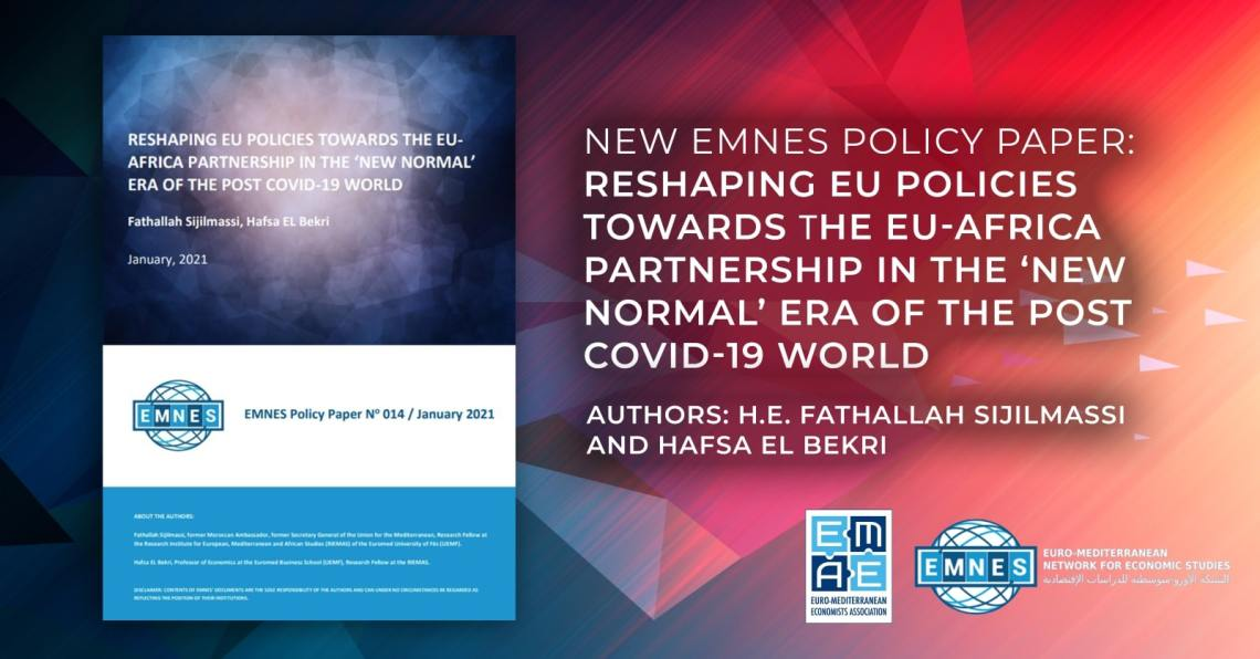New EMNES policy paper: Reshaping EU Policies Towards the EU-Africa Partnership in the 'New Normal' Era of the Post Covid-19 World