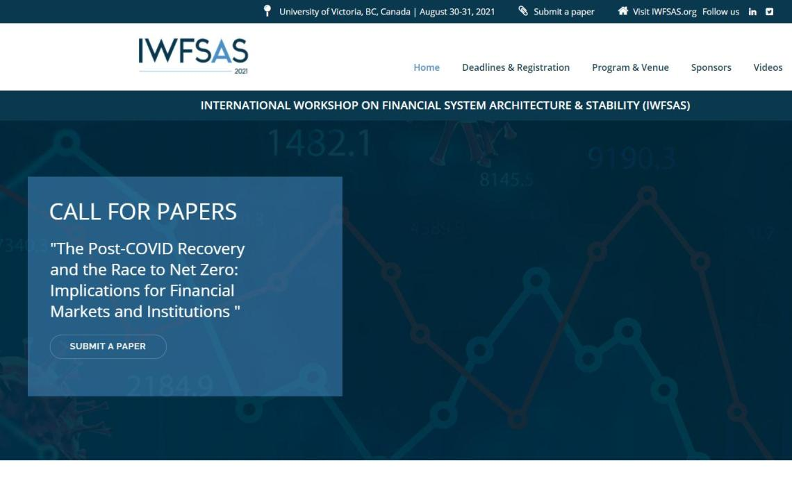 IWFSAS 2021 program and call for papers