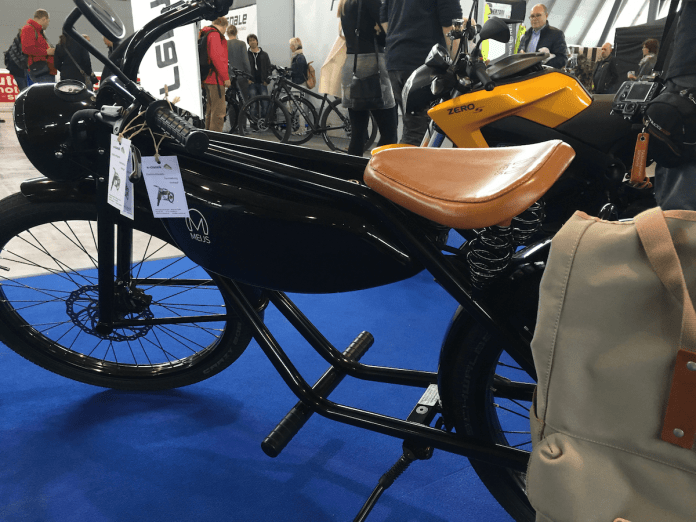 Mit Stil, Charm und Klasse: E-Moped von e-classik