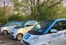 Mit dem E-Smart durch Stuttgart