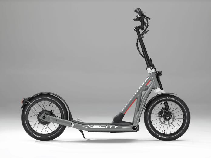 Der BMW Motorrad X2City - einfach antreten