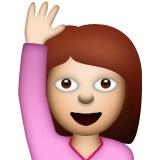 Image result for hand wave emoji