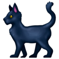 Black Cat on Emojipedia 13.0