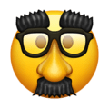 Disguised Face on Emojipedia 13.0