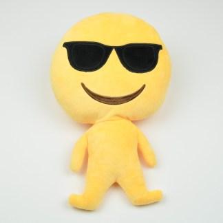 Emojifigur som är cool