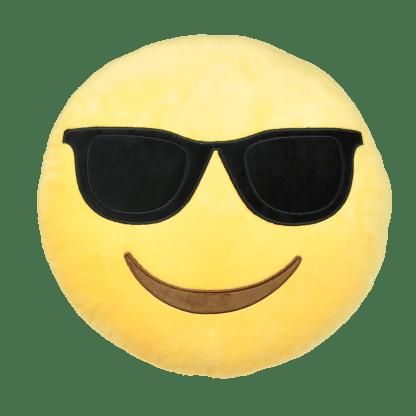 Emojikudde som är cool