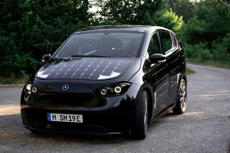 SONO Motors - Sion, Weltweit erstes Solarauto - Prototyp -2018 - Foto Sono Motors